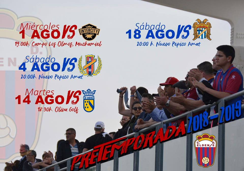 Pretemporada CD Eldense 2018/2019